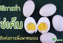 วิธีการทำไข่เค็ม