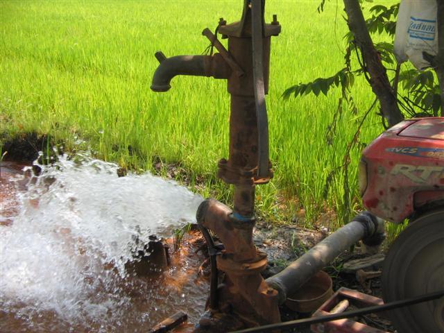น้ำที่ใช้ในการทำเกษตร